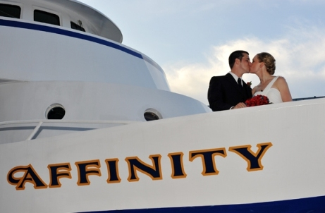 Luxury yacht weddings with Smooth Sailing Celebrations