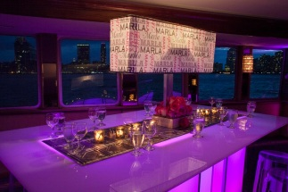 Party aboard a Smooth Sailing Celebrations yacht - photo by Miles Ladin