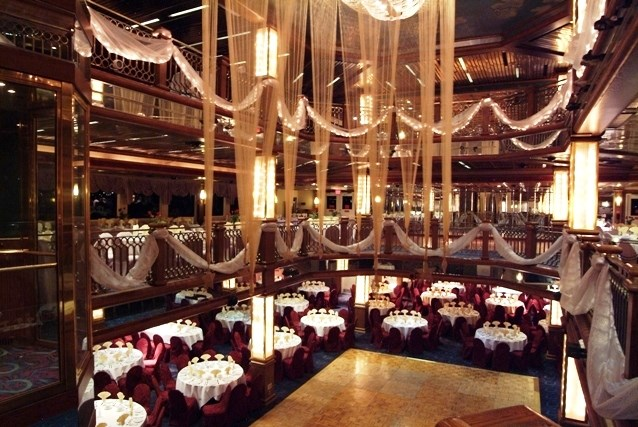 Adazzling event aboard the Majesty, part of our fleet of luxury wedding yachts NYC and NJ